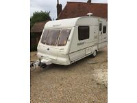bailey pageant majestic 2001 with motor mover and awning