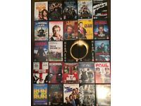 I am selling a good selection of dvds and boxsets all in good condition