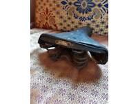 Vintage Selmore leather saddle