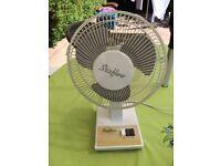 Small 2 speed desktop/table cooling fan