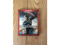 Captain America The Winter Soldier 3D Blu Ray