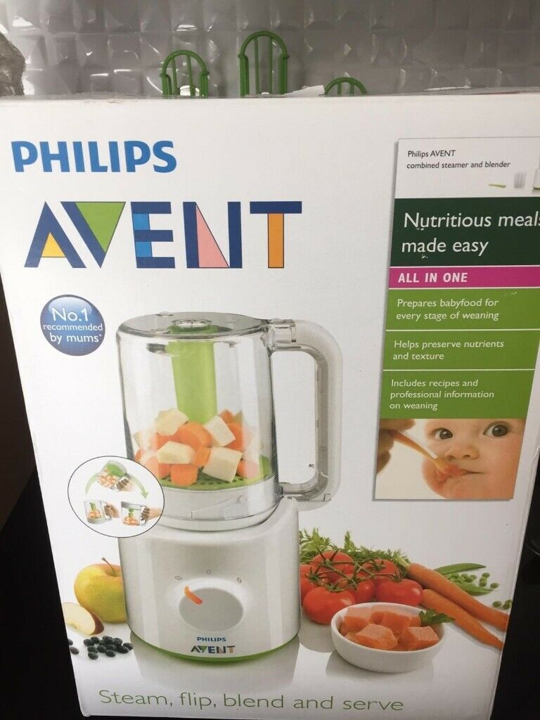 Advent Baby Food Steamer And Blender In Oxford Oxfordshire Gumtree