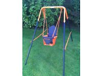 Kids Folding Headstorm Swing - As new in the Box