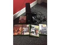 Xbox 360 black 1 controller good condition £60 Ono