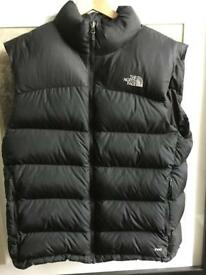 Men's North Face Nuptse Bodywarmer Size L