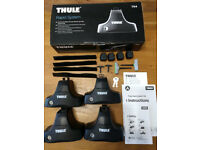 Thule 754 Foot Pack with Locks, 2 Keys, Instructions & original box
