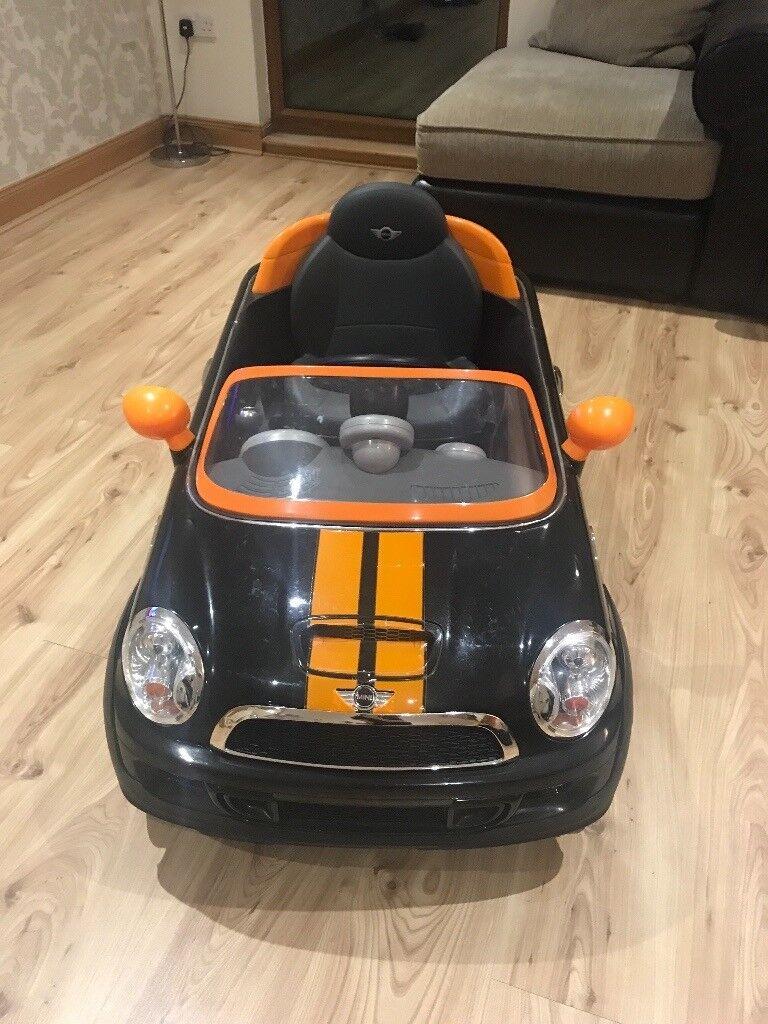 Avigo 6V Mini Cooper Coupe - Black and Orange