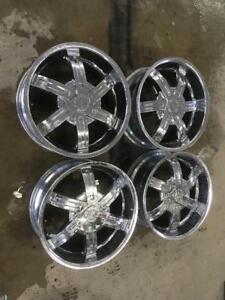 "KIT DE MAG FAST WHEEL CHROME 20"" 6X114.3 6X127"