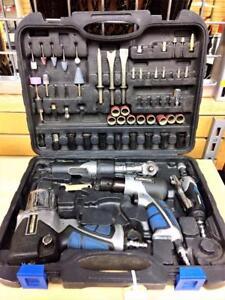 Ensemble 4x outils pneumatique et accessoires Mastercraft ***PRIX RÉDUIT*** #P