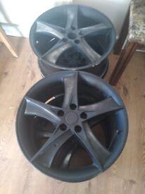 Audi. VW seat alloy wheels