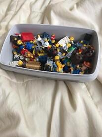 Lego people approx 75 people & bits thrown in