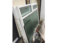 Double glazing white pvc windows. (2nd hand)