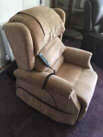 Multi position electric riser armchair