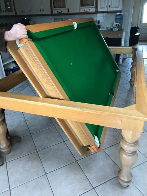 Solid Oak Flip Over Snooker Dining Table In Hornchurch London Gumtree