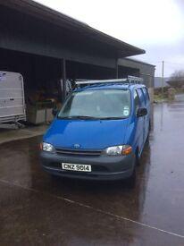Toyota Hiace Van D4D for sale 2002 181k miles 9 months mot