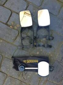 Car wing mirror extentions x3