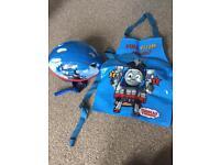 Thomas The Tank helmet and apron