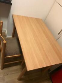 Dining table and 1 chair