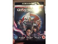 Ghostbusters 4k Ultra HD blu ray