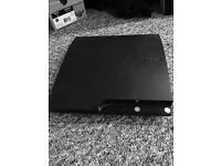 PS3 WITH 2 PADS AND ALL WIRES