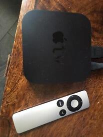 Apple TV connects to an iPhone