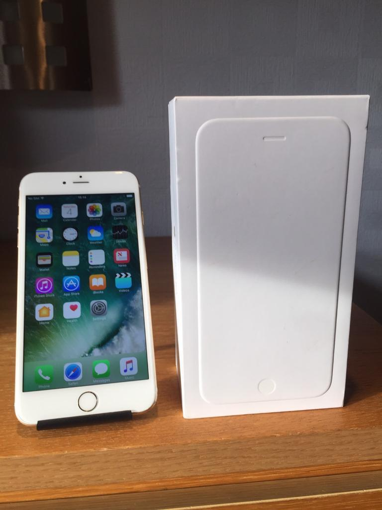 APPLE IPHONE 6GOLD VODAFONE NETWORKin Barry, Vale of GlamorganGumtree - Apple iPhone 6 Plus 16GB Gold. Comes with original box charger. Vodafone network.The phone has a few minor marks to the casing but nothing too excessive. Full working order.This is the more sought after Plus edition of the iPhone 6 which has a larger...