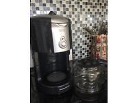 Morphy Richards filter coffee machine