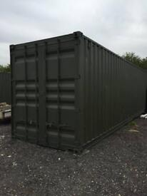 40ft Extra tall storage container £45 per week Near Epping