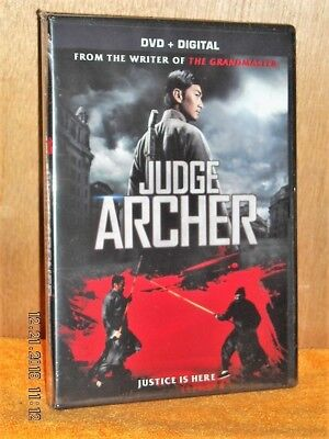Judge Archer (DVD, 2016) NEW martial artist woman avenge her father's death (Avengers Archer)