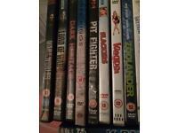 Comedy / horror/ fiction / non fiction dvds
