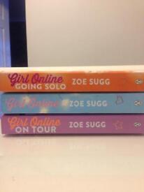Zoe Suggs, £1 each, Girl Online Series