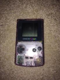 Nintendo Gameboy Color console