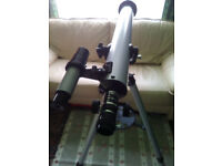 2X Used Refractor Telescope (EDU Science and Model 60700)