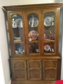 Buffet hutch, display cabinet