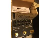 KEELEY DELAY WORKSTATION DUAL REVERB/DELAY EFX PEDAL
