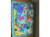 Fisher price baby play mat with toys