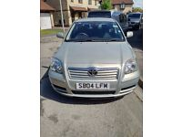 Toyota Avensis 2004 2.0 Diesel with 11 months MOT left