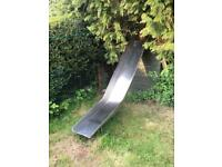 Stainless steel childrens garden slide