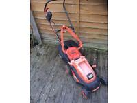 Black & decker lawnmower with grass box perfect working order £20