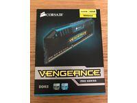 Corsair Vengeance 2X8GB (16GB) 1866mhz 9-10-9-27 DDR3 RAM Blue