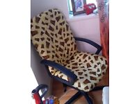 Up cycled office chair