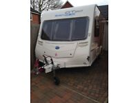 2 berth Bailey Ranger caravan GT60 460/2. Single axle, excellent condition.
