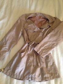 Ladies mac coat size 10