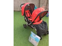 Mothercare tandem double buggy