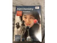 A/AS LEVEL CHEMISTRY TEXTBOOKS-AQA- OXFORD PRESS & CGP & COLLINS PRESS