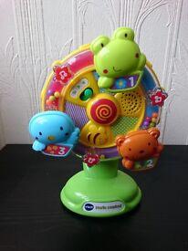 VTech Little Friendlies Sing-Along Spinning Wheel - New