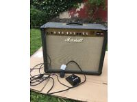 Marshall JTM 30 1x12 Combo amp with accessories