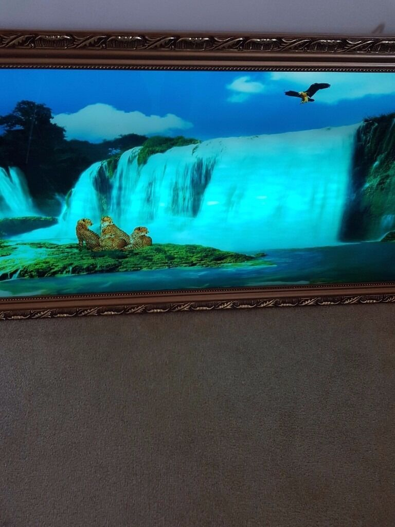 For sale moving waterfall illusion photo frame with sound in for sale moving waterfall illusion photo frame with sound jeuxipadfo Images