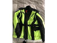 Land Of Leather Textile Jacket New