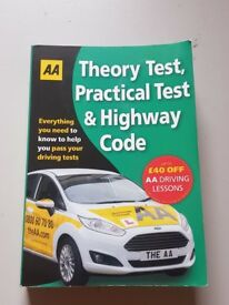 AA Driving Theory, Practical and Highway Code Book